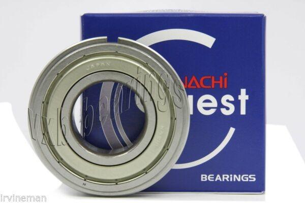 6219ZZENR Nachi Shielded C3 Snap Ring Japan 95mm x 170mm x 32mm Ball Bearings