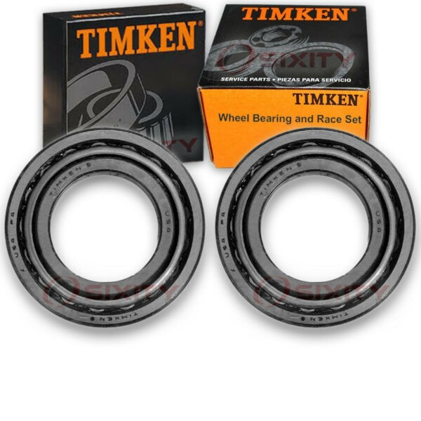 Timken Rear Wheel Bearing & Race Set for 1970-1971 Mercury Cyclone Pair Left th