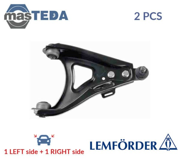 2x LEMFÖRDER LOWER LH RH TRACK CONTROL ARM PAIR 27063 01 P NEW OE REPLACEMENT