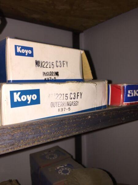 Koyo Japan NU-2215-C3FY Bronze Cage Cylindrical Roller BEARING