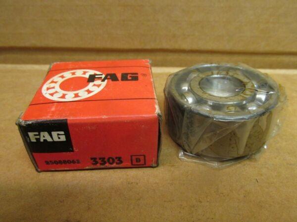 FAG 3303 ANGULAR CONTACT BEARING 3303 17mm ID 47mm OD x 7/8