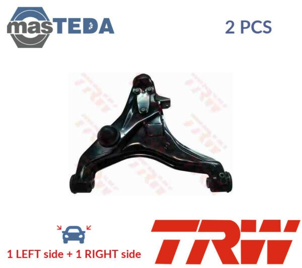 2x TRW LOWER LH RH TRACK CONTROL ARM PAIR JTC7707 I NEW OE REPLACEMENT