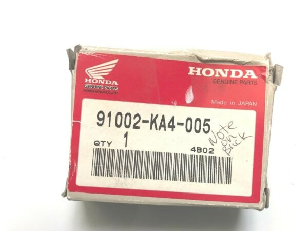 Honda 91002-KA4-005 Bearing Radial Ball (7X19X6) (Nachi)