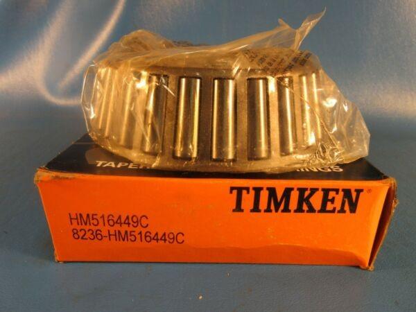 Timken HM516449C Tapered Roller Bearing, Single Cone; 3 1/4