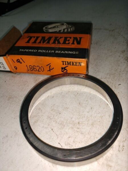 TIMKEN TAPERED ROLLER BEARING 18620  2 IN STOCK