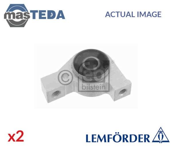 2x LEMFÖRDER LOWER FRONT CONTROL ARM WISHBONE BUSH 38203 01 G NEW