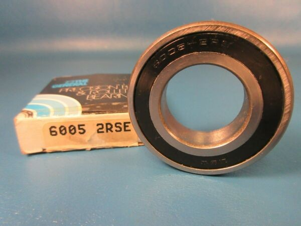 General 6005 2RS E, Single Row Radial Bearing, Sealed (FAG, Koyo, SKF, Timken)