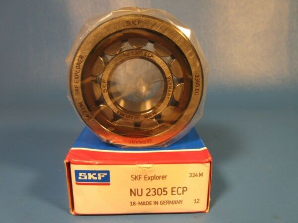 SKF NU 2305 ECP Cylindrical Roller Bearing, Single Row (FAG, NTN, NSK)