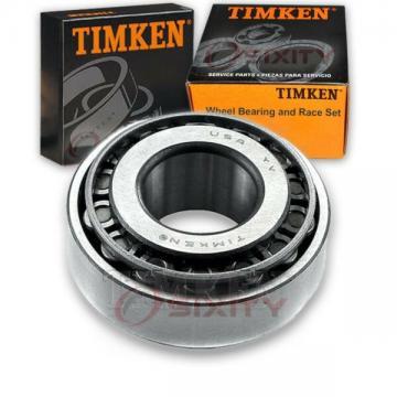 Timken Front Outer Wheel Bearing & Race Set for 1969-1970 International 1000 qj