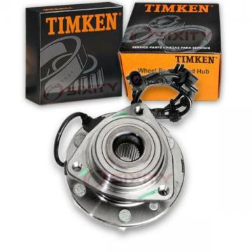 Timken Front Wheel Bearing & Hub Assembly for 2003-2008 Isuzu Ascender Left at