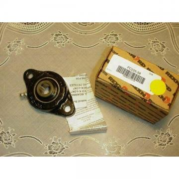 Rexnord FC225-58 2 Bolt Flange - 5/8 Inch Bearing F2-03 NEW IN BOX!