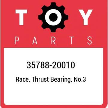 35788-20010 Toyota Race, thrust bearing, no.3 3578820010, New Genuine OEM Part