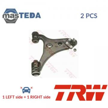 2x TRW LOWER LH RH TRACK CONTROL ARM PAIR JTC1402 I NEW OE REPLACEMENT