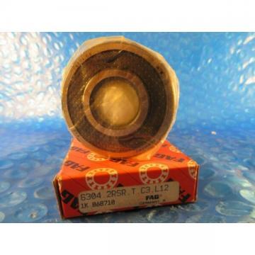 FAG 6304 2RSR C3  Single Row Radial Bearing (SKF 2RS, Timken 304PP, NTN VV NSK)
