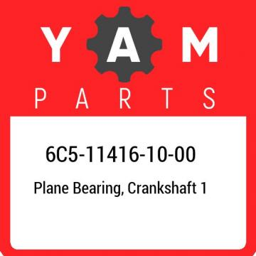 6C5-11416-10-00 Yamaha Plane bearing, crankshaft 1 6C5114161000, New Genuine OEM