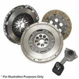 MAZDA Dual Mass Flywheel + 3 Piece Clutch Kit With Bearing By Exedy LuK