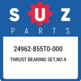 24962-855T0-000 Suzuki Thrust bearing set,no.4 24962855T0000, New Genuine OEM Pa