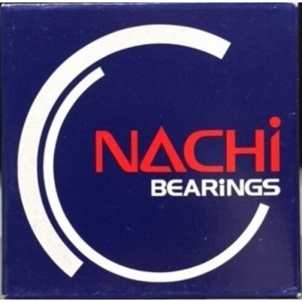NACHI 6012ZZEC3 SINGLE ROW BALL BEARING #1 image