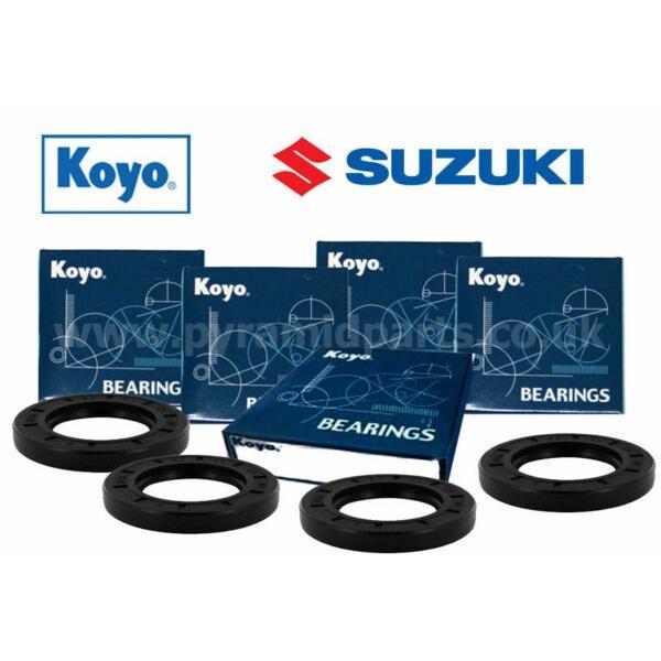 Suzuki TL1000S V/W/X/Y/K1 Complete Front & Rear Wheel bearing kit JAPANESE #1 image